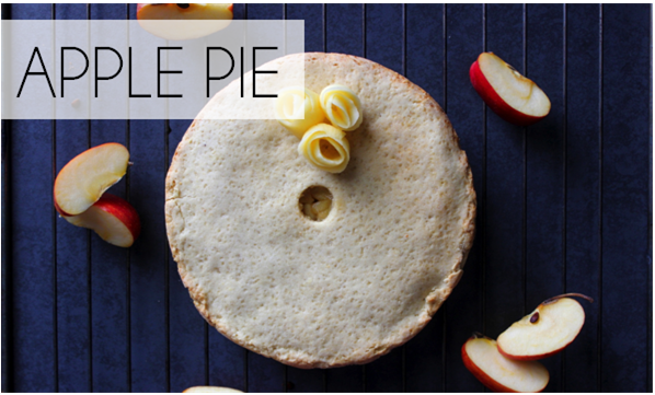 Apple Pie (-25% de calories)