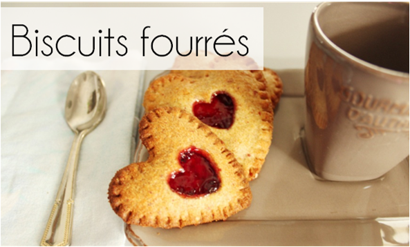 Biscuits fourrés noisette / fruits rouges (-24% de calories)