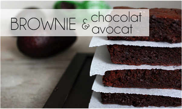 Brownies chocolat / avocat (-52% de calories)