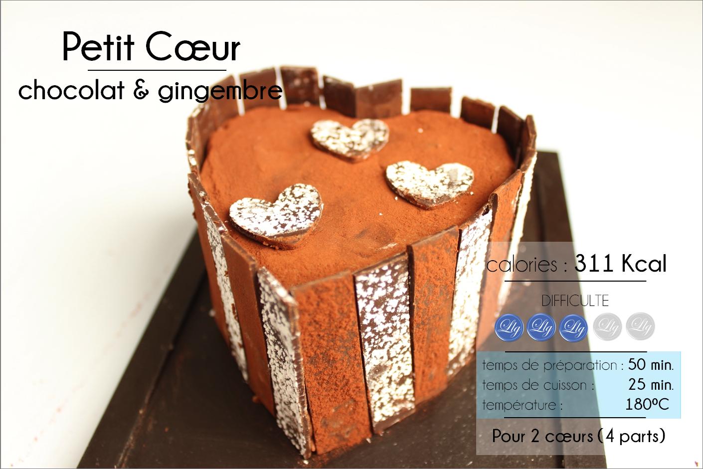 coeur chocolat gingembre