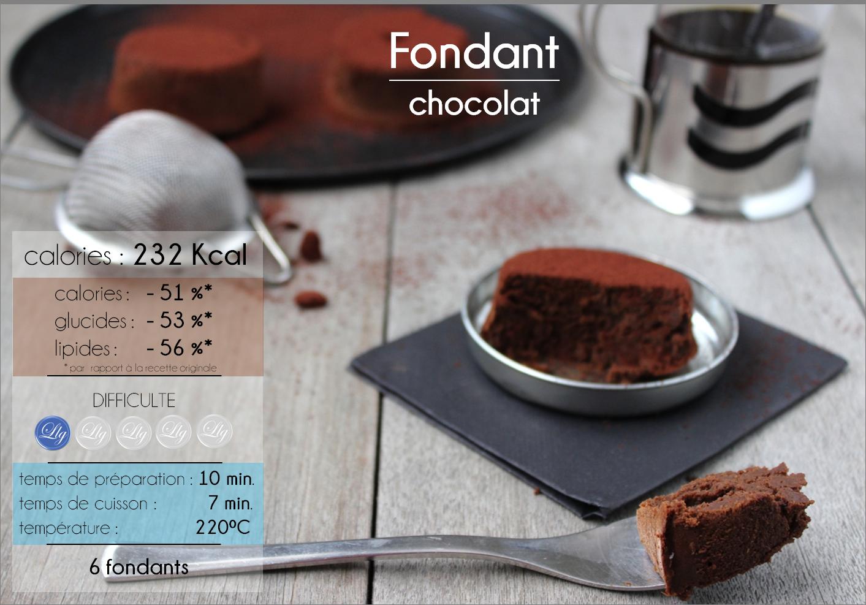 La ligne gourmande recette du fondant au chocolat - Recette du fondant au chocolat ...