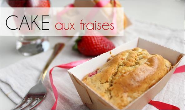 Cake à la Fraise (-45% de calories)