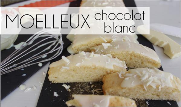 Moelleux au chocolat blanc (-39% de calories)