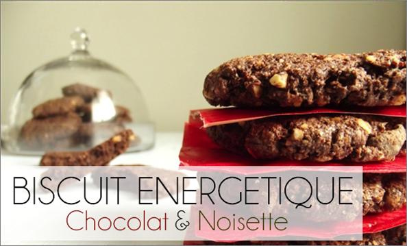 Biscuit énergétique Chocolat / Noisettes (-39% de calories)