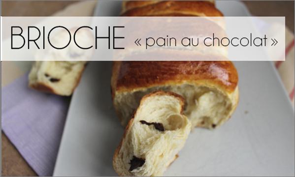 Brioche (comme un pain au chocolat) (-38% de calories)