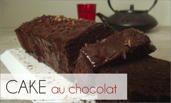 Cake au Chocolat (-40% de calories)