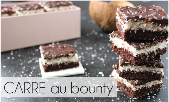 Carré au bounty (-33% de calories)