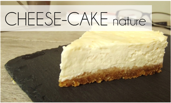 Cheese-Cake Nature (-56% de calories)