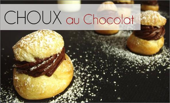 Chou au Chocolat (-40% de calories)