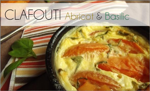Clafouti Abricot / Basilic (-39% de calories)