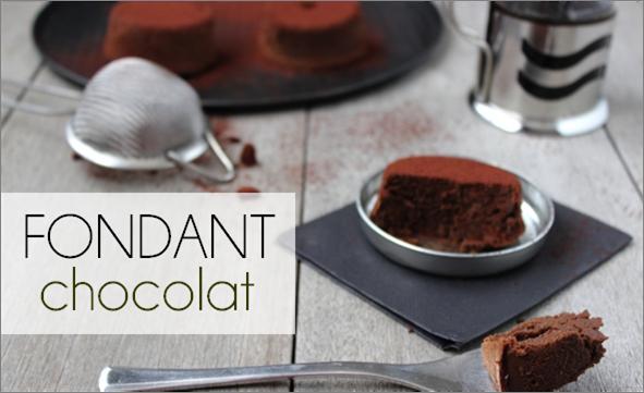 Fondant Chocolat (-51% de calories)