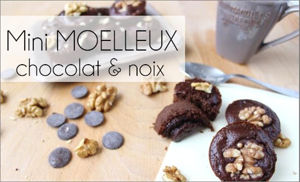 Mini Moelleux Chocolat / Noix (-59% de calories)