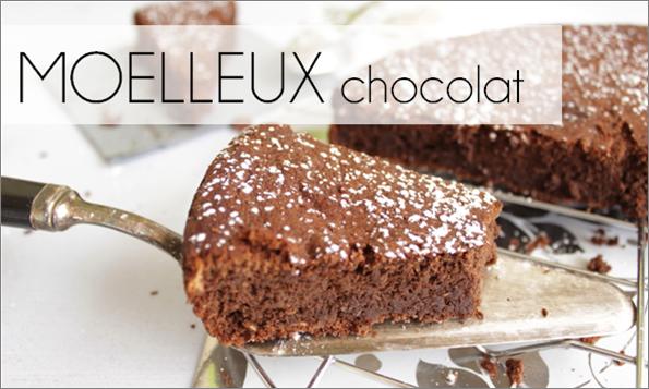 Moelleux chocolat (-25% de calories)
