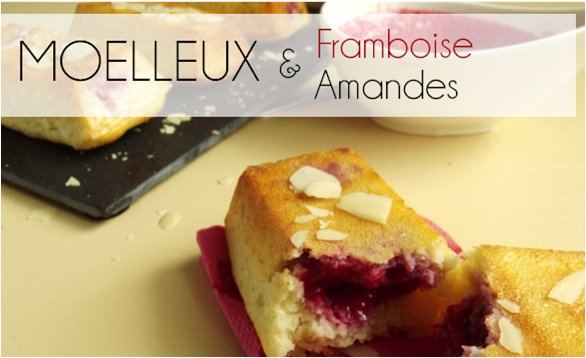 Moelleux Framboise / Amande (-55% de calories)