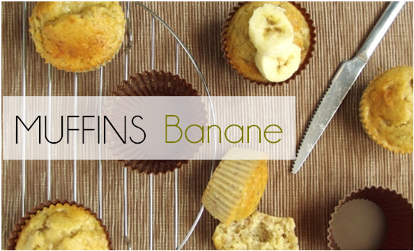 Muffin banane (-44% de calories)