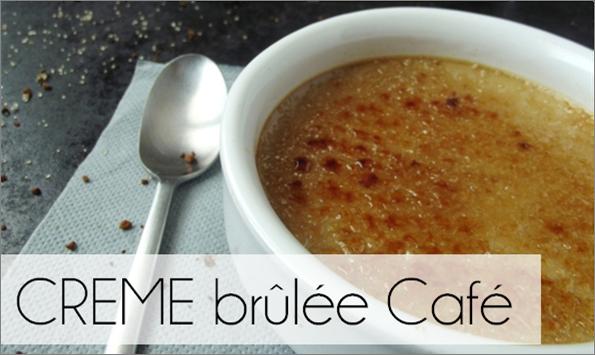 Crème brûlée Café (-59% de calories)