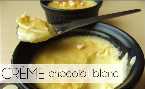 Crèmes Chocolat blanc (-44% de calories)