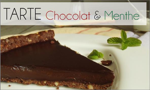 Tarte Chocolat / Menthe (-39% de calories)
