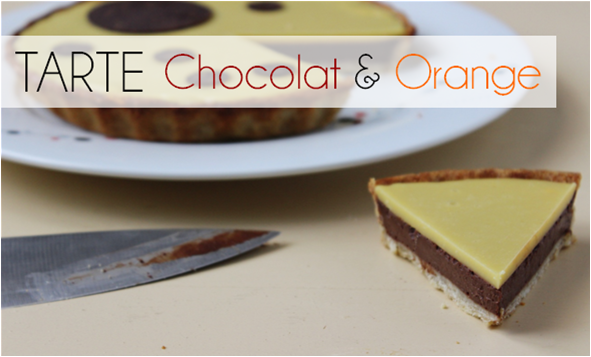 Tarte Chocolat / Orange (-45% de calories)