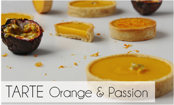 Tarte Orange / Passion (-41% de calories)