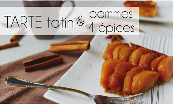 Tarte tatin Pommes / 4 épices (-51% de calories)