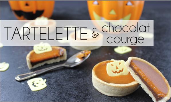 Tartelette chocolat / courge (-30% de calories)