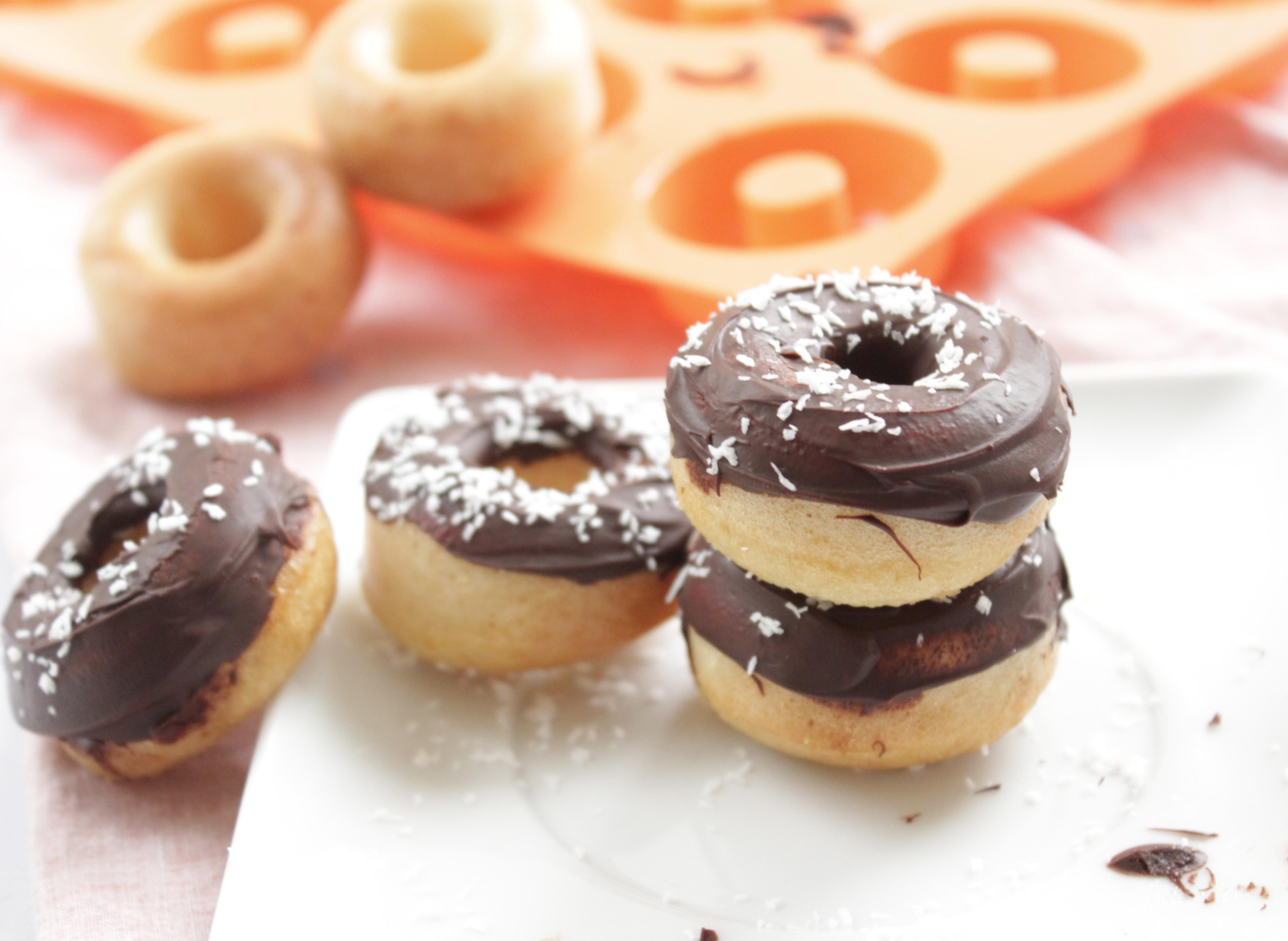 Comme un donuts, chocolat / noix de coco