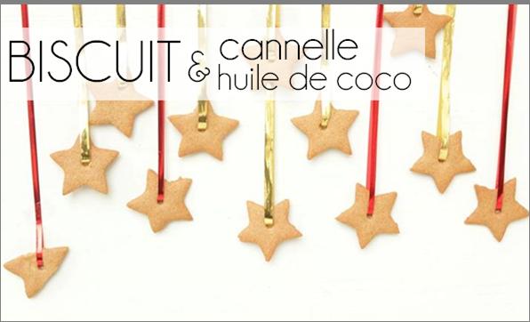 Biscuit à la cannelle et huile de coco
