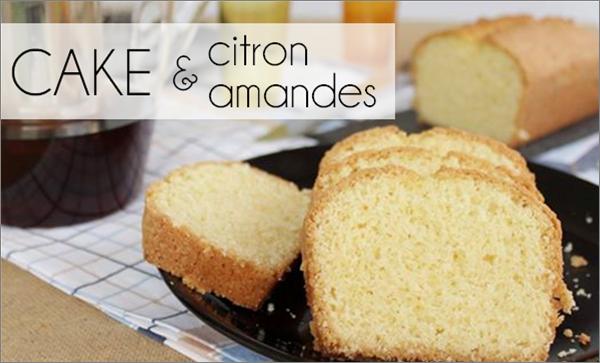 Cake citron / amande