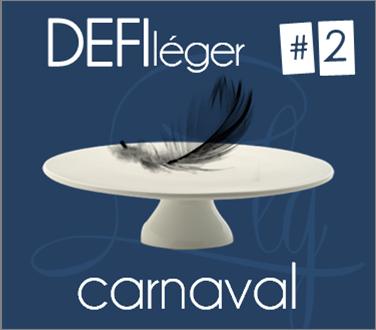 DEFI léger #2 - carnaval| le tableau