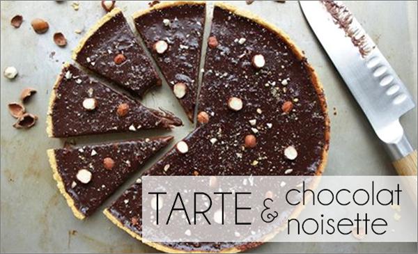 Tarte chocolat / noisette