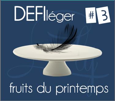 DEFI léger #3 - fruits du printemps| le tableau