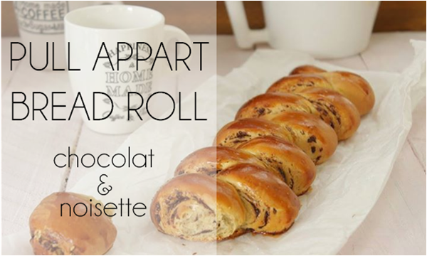 Pull appart bread roll chocolat / noisette