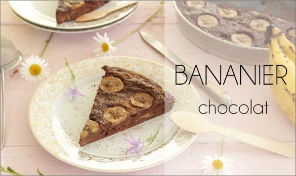 Bananier au chocolat