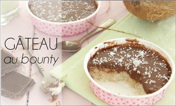 Gâteau au bounty (vegan, sans sucre et sans beurre)