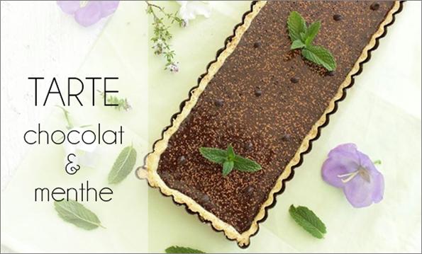 Tarte chocolat / menthe