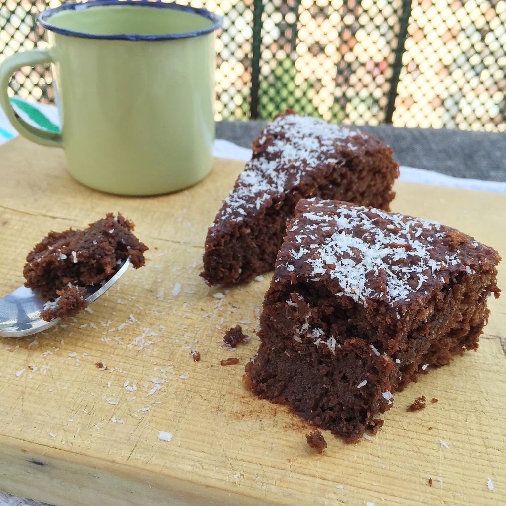 Cocotier - Gateau au chocolat sans sucre ...