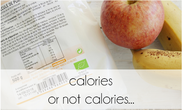 Calories or not calories  ...