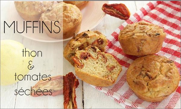 Muffins thon / tomates séchées (sans beurre)