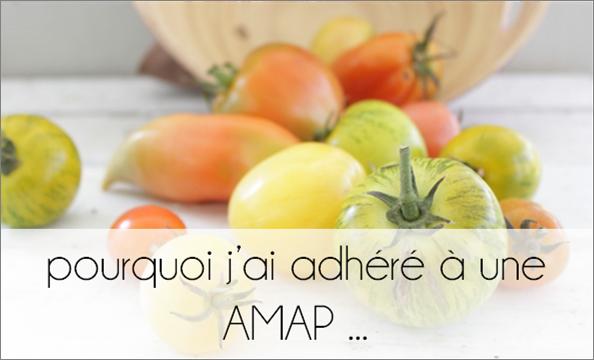 Pourquoi j'ai adhéré à une AMAP ...