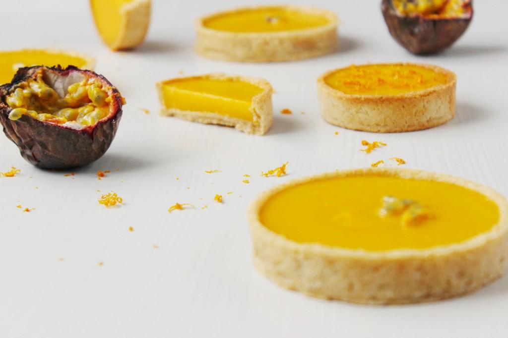 tarte fruit de la passion orange