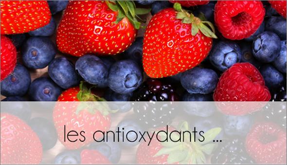 ZOOM : les antioxydants