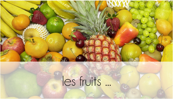 ZOOM : les fruits