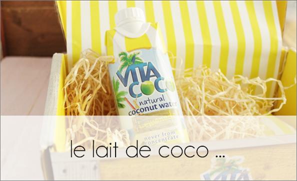 ZOOM : le lait de coco