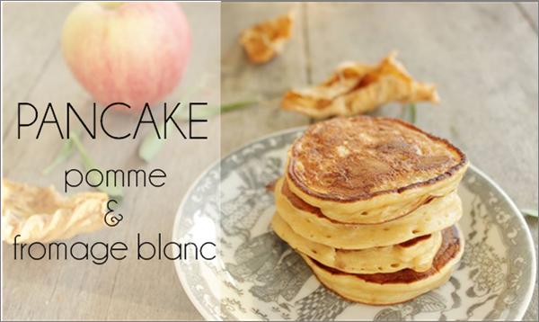 Minis pancakes à la pomme