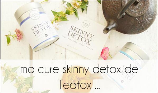 Ma cure skinny detox de Teatox ...