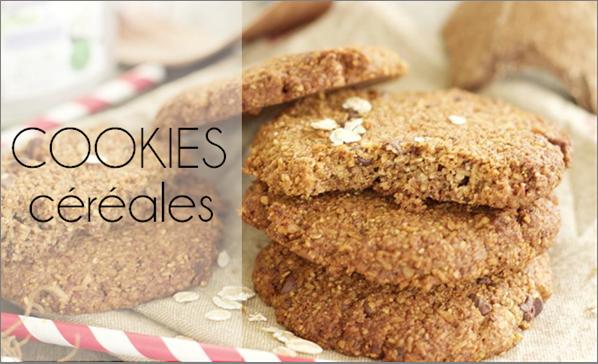 Cookies aux céréales (sans sucre ajouté)