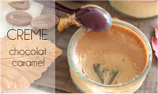 Crème au chocolat caramel