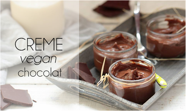 Crème dessert au chocolat (sans lactose).