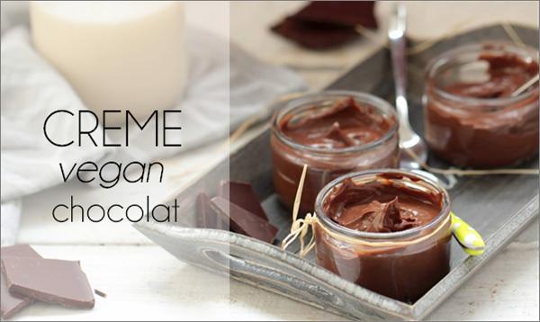 Crème dessert au chocolat (sans lactose).